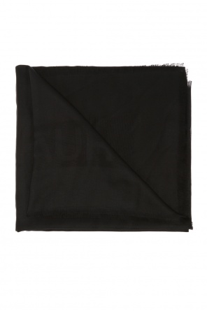 Logo-embroidered shawl od Saint Laurent