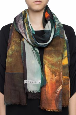 Printed shawl od Stella McCartney