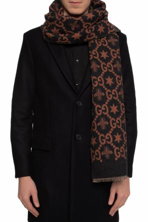 Patterned logo scarf od Gucci