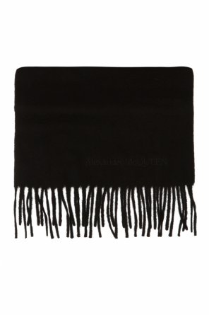 Scarf with logo od Alexander McQueen