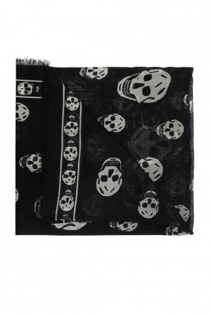Logo-printed scarf od Alexander McQueen