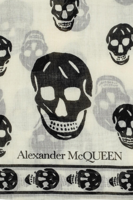 Alexander McQueen Patterned scarf