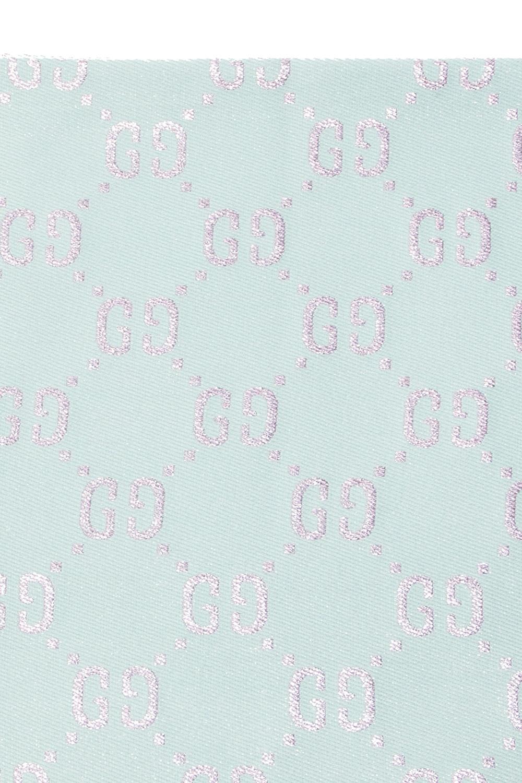 Gucci Kids Logo-embroidered shawl