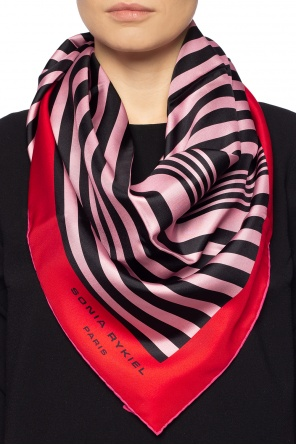 Patterned shawl od Sonia Rykiel