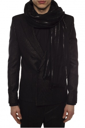 Raw-trimmed scarf od Saint Laurent