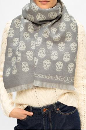 Wool scarf od Alexander McQueen