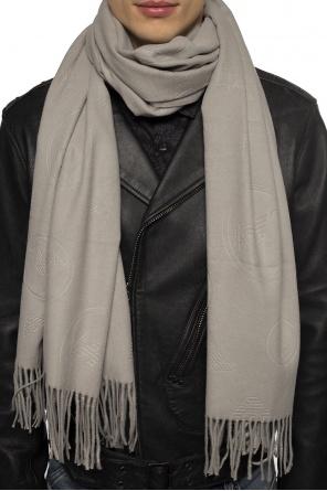 Logo scarf od Emporio Armani