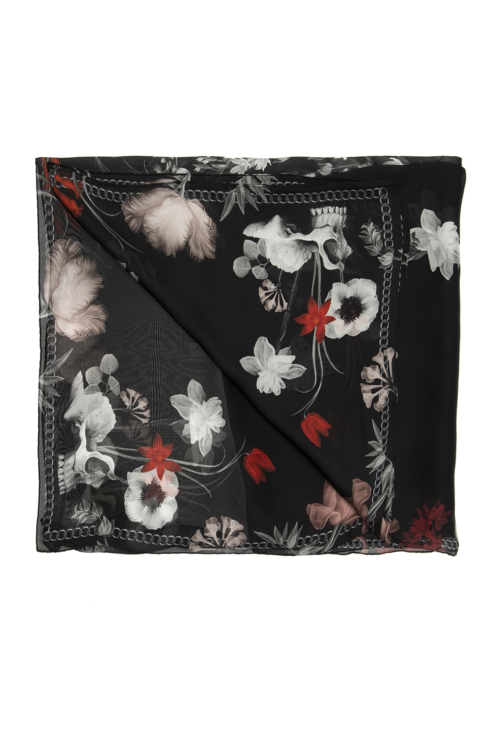 Alexander McQueen Printed scarf