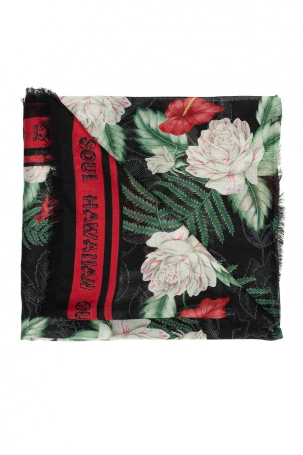 Gucci 'Hawaiian Gucci Soul' print scarf