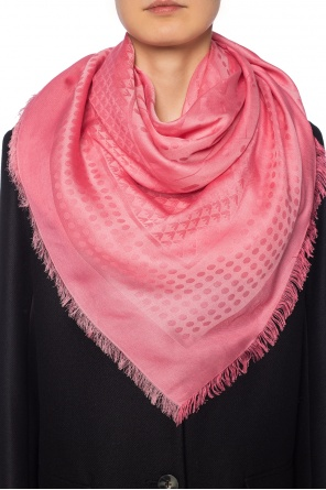 Logo-patterned shawl od Emporio Armani