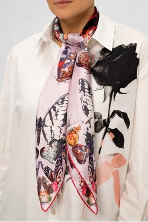 Silk shawl od Alexander McQueen