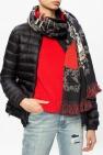 Alexander McQueen Skeleton motif scarf