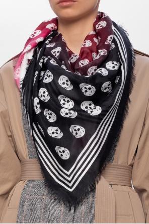 骷髅样式装饰围巾 od Alexander McQueen