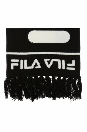 Scarf with an embroidered logo od Fila