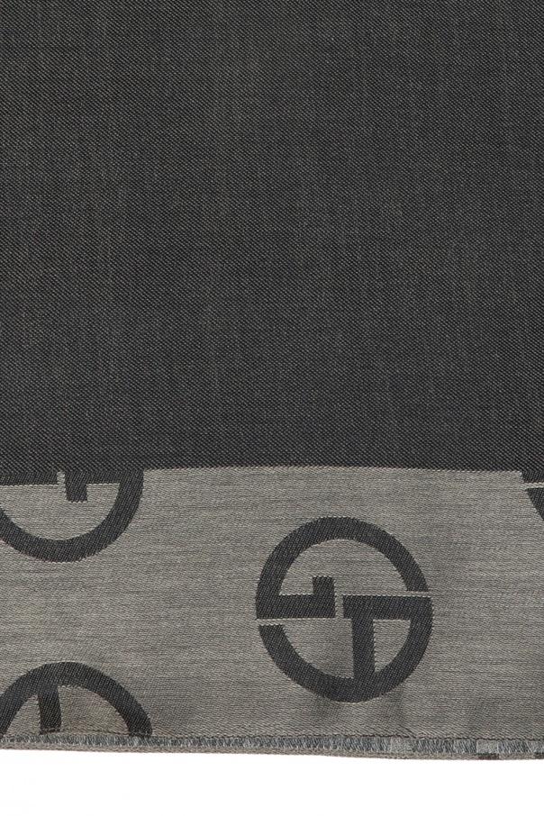 Scarf with logo od Giorgio Armani