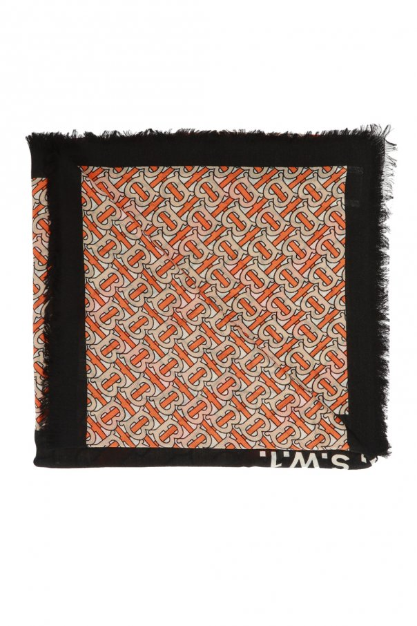 Burberry Patterned cashmere scarf