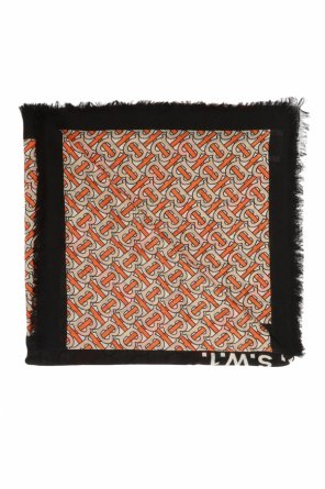 Patterned cashmere scarf od Burberry