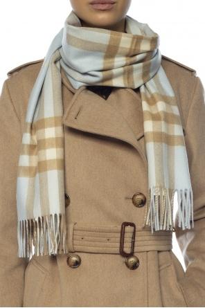 Checked cashmere scarf od Burberry