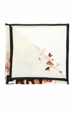 Floral-printed shawl od Burberry