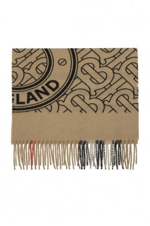 Cashmere scarf with logo od Burberry