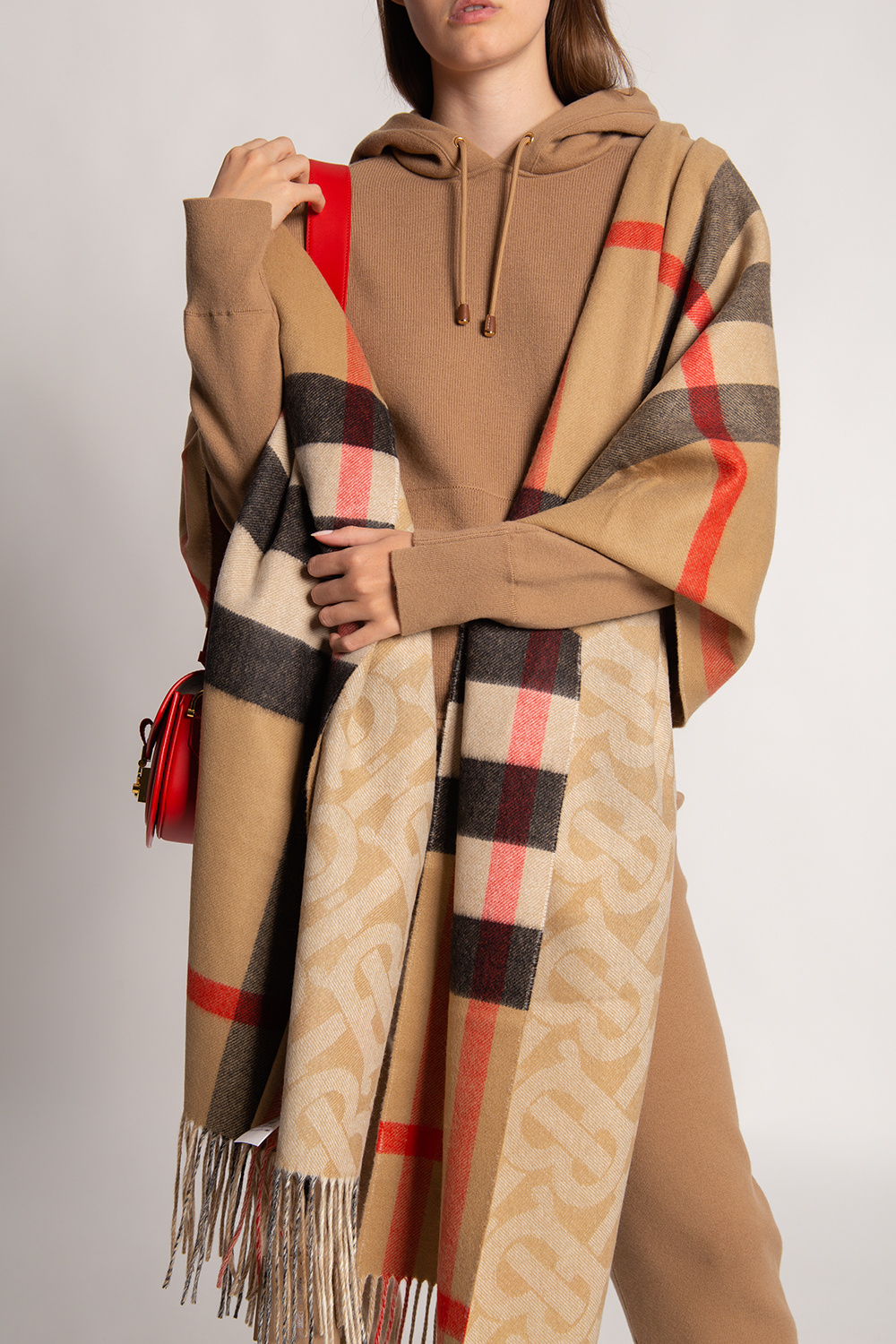 Burberry Cashmere scarf with logo