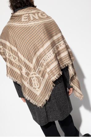 Checked shawl od Burberry