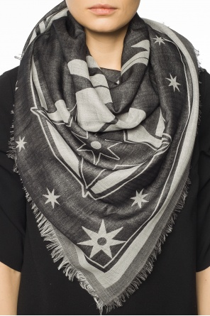 Embroidered stars shawl od Givenchy