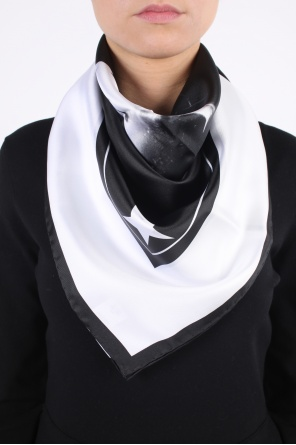Printed silk shawl od Givenchy
