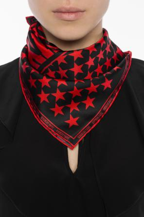 Star-patterned neckerchief od Givenchy