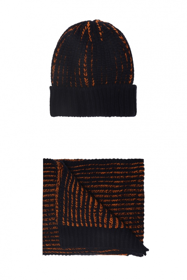 d423d84b1a734 Winter hat and scarf Diesel - Vitkac shop online