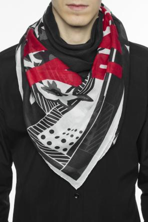 Patterned shawl with logo od Givenchy