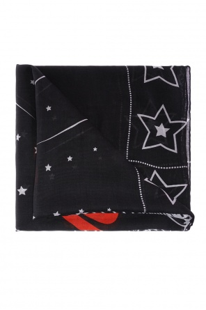 Logo-embroidered shawl od Givenchy