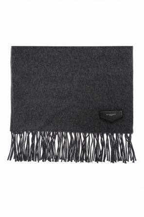 Logo-patched scarf od Givenchy