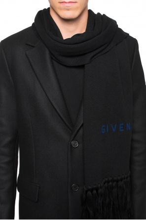 Reversible scarf with logo od Givenchy