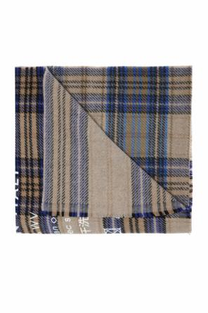 'cassiar' patterned scarf od Acne