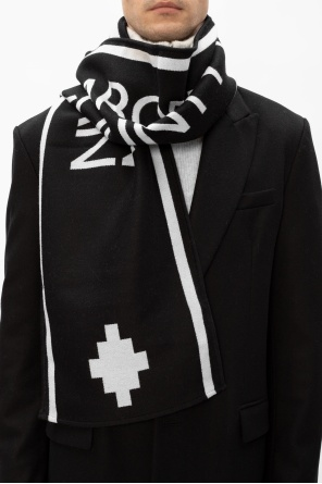 Scarf with logo od Marcelo Burlon