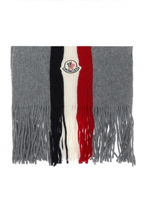 Striped scarf od Moncler
