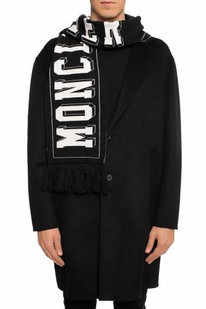 Logo-embroidered scarf od Moncler