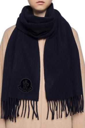 Patched scarf od Moncler