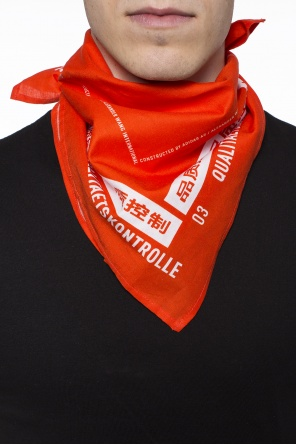 Printed neckerchief od ADIDAS by Alexander Wang