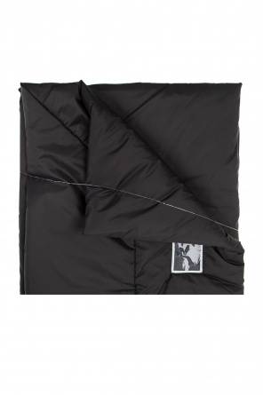 Patched scarf od Rick Owens DRKSHDW
