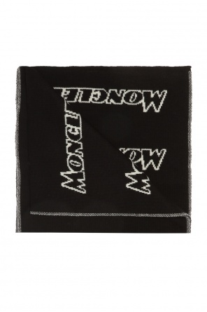 Embroidered scarf od Moncler
