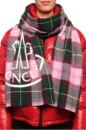 Checked scarf od Moncler