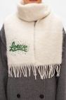 Loewe Mohair scarf with logo