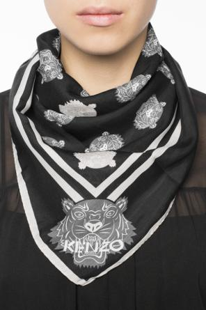 Shawl with tiger's heads od Kenzo
