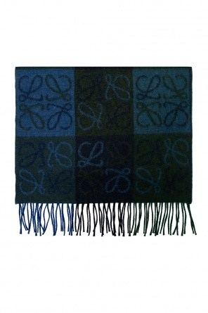 Patterned scarf od Loewe