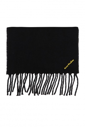 Scarf with fringes od Acne