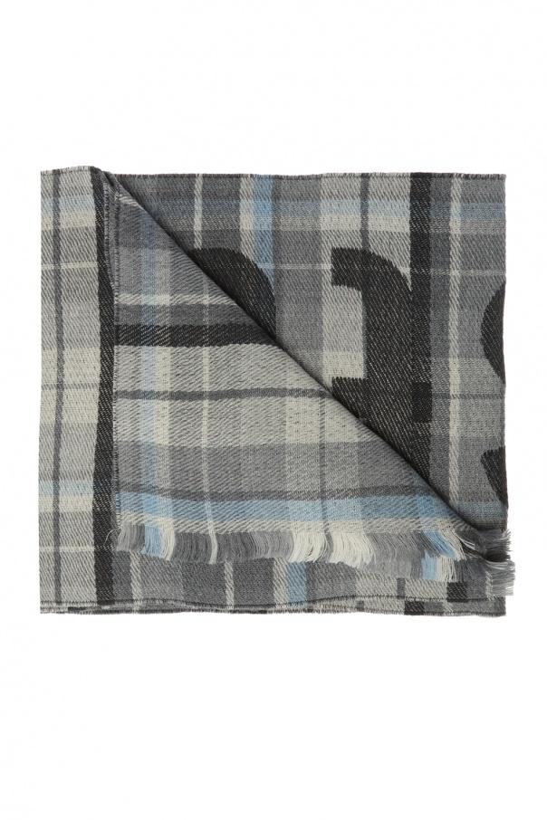 Acne Logo scarf