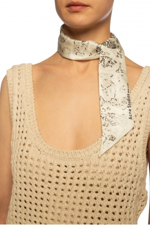 Printed neckerchief od Acne