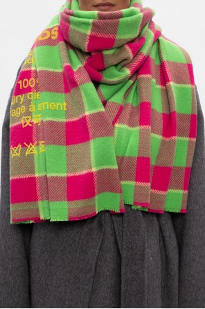 Checked scarf od Acne